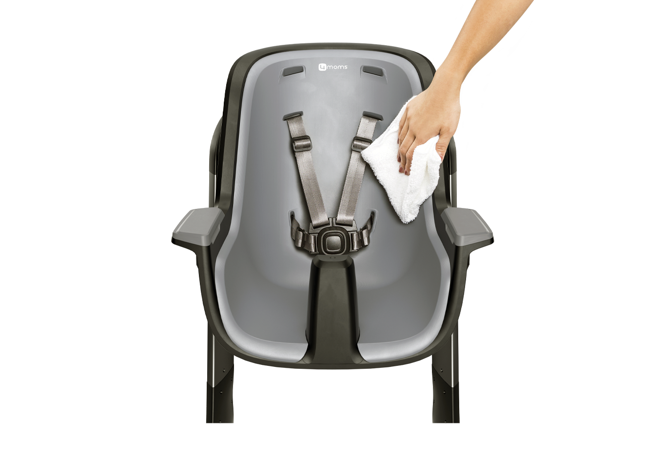 easy to clean removable insert for high chair